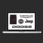 Chrysler, Dodge, Jeep ir Fiat diagnostika.